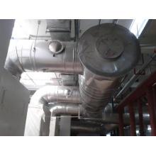 Schornstein des Hotel-Biomassekessels