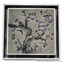 Square Shape Bathroom Floor Drain (DG-25)