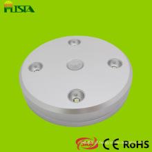 1W diodo emissor de luz do Sensor com bateria de lítio recarregável