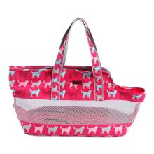Breathable Travel Pet Dog Carrier Bag Soft Canvas Mesh Pet Cat Carrier