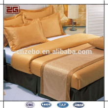 Hot Venda Atacado Personalizado Jacquard Rei / Queen Size Bed Bed Bed Bedford / Cama
