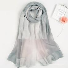 Mode élégante femmes collection Multi couleur impression numérique design personnalisé carrée en soie écharpe foulard en soie turque