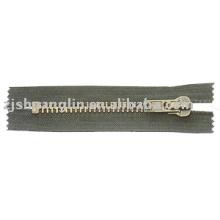 10# antique brass zipper