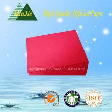 Beste Qualität A4 Farbkopierpapier für Büro 80GSM mit konkurrenzfähigem Preis
