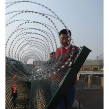 Welding Airport Security Fence Flat Beam