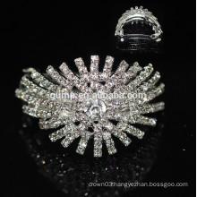 Wholesale Good Quality Crystal Hairgrip Girls Headwear Glitter Rhinestone Barrette