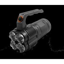Vente chaude JEXREE 18650 Lampe torche rechargeable à lampe longue portée longue portée de 40w