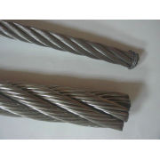5mm 304 Stainless Steel Wire Rope , 6x19+iwrc For Electricity / Bridges