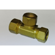 Lead Free Brass Compression Tee Fitting Supplier