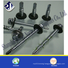 Hex Self Drilling Screw with Flange Face