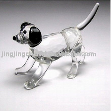 Crystal Animal Dog Figurine