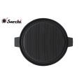 Cast iron round griller