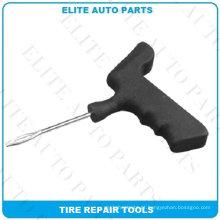 Ferramentas de reparação de pneus de plástico com agulha de olho dividido