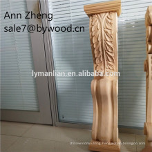 hand carved wood corbels home decoration columns