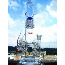 K50 18inch 60 Diameter 5thickness Adustable Honeycomb Roll Ball Birdcage Shower Tobacco Glass Smoking Water Pipe