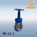 ductile iron wafer knife gate valve dezurik cast steel knife gate valve