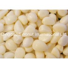 Knoblauchzehen in Salzlake (Salz: 8-15%, 20-22%)