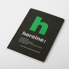 cuaderno de papel blanco de la tarjeta