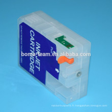 80 ml * 9 couleurs T5801-T5809 cartouche d'encre de recharge en vrac pour Epson stylus pro 3800 imprimante à encre pigmentée