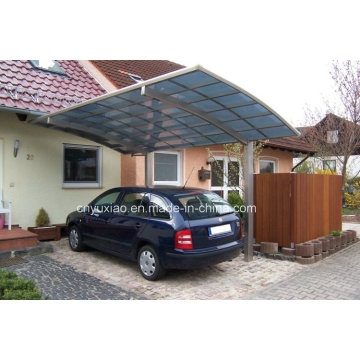 Luxurious Appearance Carport in Aluminum Structure