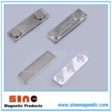 Metal Magnetic Nombre Etiqueta / Magnetic Nombre Titular