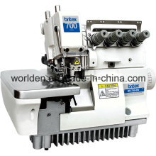 BR-700-5W Super High Speed Fivve Thread Wide Needle Gage Overlock Sewing Machine