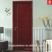 Portão de madeira interno chinês de melamina ecológica
