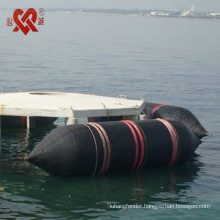 Floating boat salvage rubber airbag for sales airbag scrap for ship launching