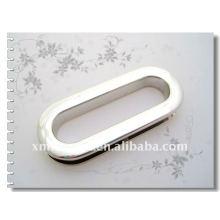 Ojal de metal oval para bolsas de cuero