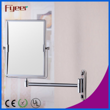 Fyeer Rectangle Brass Wall Makeup Mirror (M4228)