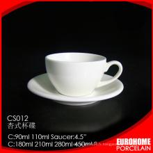 Soucoupe et tasse de café en gros hôtel fournisseur Eurohome