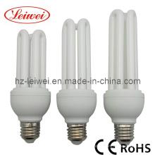 T4 3u 20W 23W 25W lámpara ahorro de energía, luz