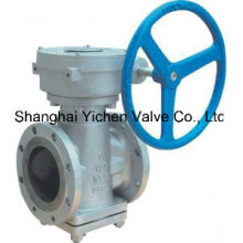 Gear Operation Lubricated Plug Valve (YX43)