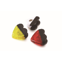 Heart shape magnetic plastic clip with low price