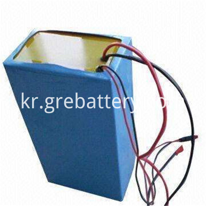 72V lithium ion battery