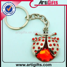 Newest fashion cheap metal insect keychain