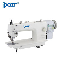 DT 2687 Typische lange Arm Single / Double Nadel Heavy Duty Mischfutter Steppstich industrielle Nähmaschine