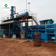 Resíduos de pneus / plástico / borracha para 85% ~ 90% de destilação de plantas de exportação para 50 países