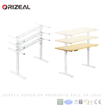 2018 Best selling Electric Height Adjustable office desk With Single motors