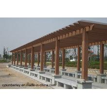 Billig und fein, umweltfreundlicher WPC Pavillon