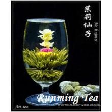 Mo Li Xian Zhi (thé vert féerique de jasmin, RMT-BMW036) NORME DE L'UE
