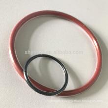 PTFE Teflon double layers encapsulated Viton or Silicone O-Ring