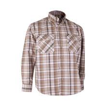 100% algodão trabalho camisa fogo retardador fr roupa