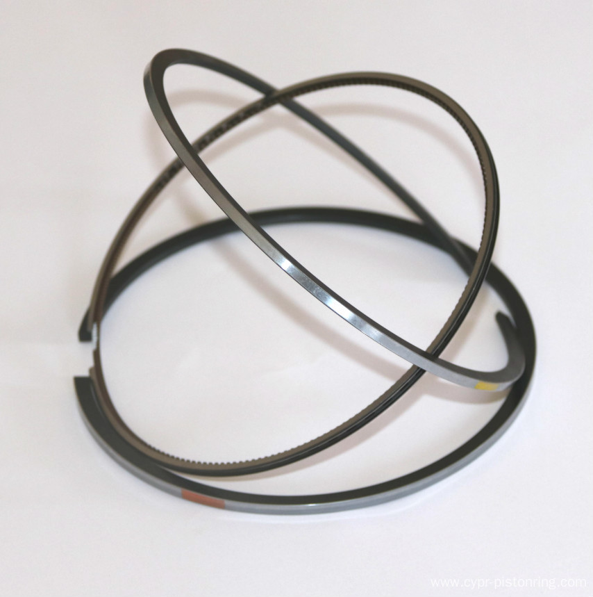 Diesel engine piston ring