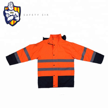 High Visibility Reflective Jacket Safety Clothing