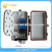 Boîte de distribution optique à fibre optique avec connecteurs SC 4port, boîte de répartition par répartiteur de fibres