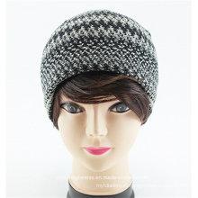 Вязать полосатый пользовательские Шапочка шапка Женская шапка
