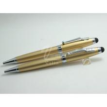 Venda Por Atacado Cheap Golden Custom Touch Screen Pen