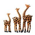 FQ marque en gros art fournitures formes girafe jouet en bois artisanat