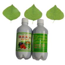Adubo orgânico foliar microbiano para alimentos saudáveis